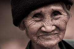 Thai old woman