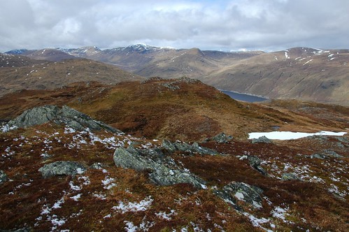 Loch Lyon from Meall nan Subh