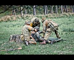 RB-9604 (Robert Bridgens) Tags: park home m1 scenario brave medic ksk hotb 2011 50cal k98 30cal margham garrand stahlkrieger