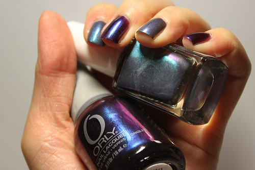 Estessimo Tins Swan Lake vs Orly Royal Velvet (3/3)