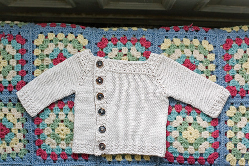 Offset Cardigan for Baby Lemire
