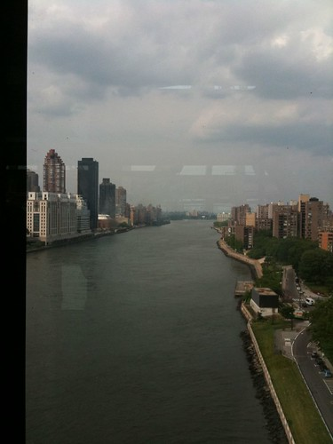 The East River from the Roosevelt Island Tram
