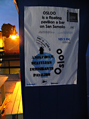 ASI@Danish-pavilion-Osloo (Anon Stateless Immigrants) Tags: art performance activism anonymous subversion freedomofspeach capitalsim danishpavilion osloo floatingpavilion statelessimmigrantspavilion 54venicebiannale