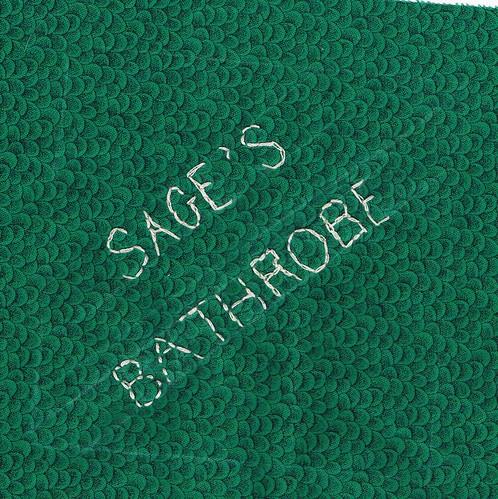 Sage's Bathrobe