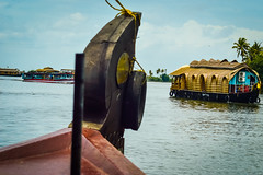 Heading towards Destination! (yugantarora) Tags: landscape nikon love lovely india moment kerala heaven asian meadow indian houseboat paradise alleppey pleasant natgeo gods own country southindia nikonista incredibleindia allapuzha dailyshot goodshot masmerizing today shot winner destiantion indiainmylens todays nikonsit palm trees houseboats nikonist travelphotographer nikonphotography view travelindia indiapictures keralatrip indiaimages traveldove beautiful morning crossing ayurveda spa backwaters photographer captured sky sunrise lake beauty water boat beach travel light clouds tree summer 500px day wow traveldiaries