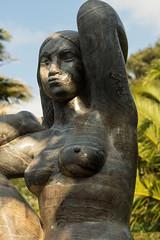 Gaia, the Earth Mother (seaslater) Tags: abbeygarden gaia scilly tresco statue earth mother stone davidwynne sculpture