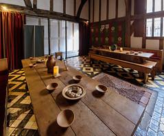 Barley Hall (alh1) Tags: barleyhall coffeeyard yorkarchaeologytrust england northyorkshire places yat york medieval greathall tiles