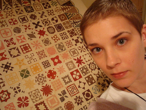 me with the Dear Jane quilt