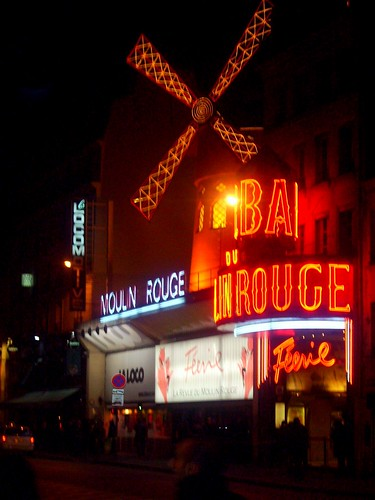 Paris, France - Moulin Rouge