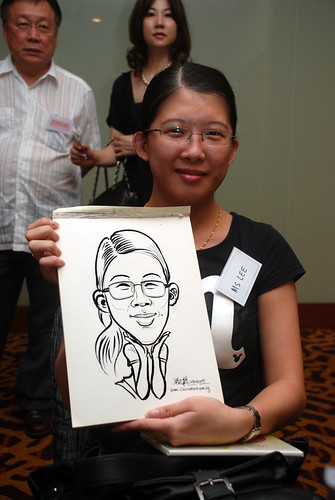 Caricature live sketching for Rheen Manufacturing Company (Singapore) Pte Ltd  - 3