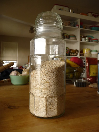 jar of wheatena
