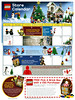 UK LEGO Brand store calendar for November 2009