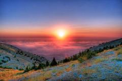 Lebanon - لبنان (Ashraf Khunduqji) Tags: sunset lebanon nature landscape nikon charming hdr d3 2470mm alshoufcedarnaturereserve ashrafkhunduqji محميةأرزالشوفالطبيعية