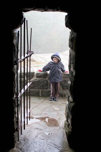 Outside the castle gates