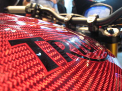 Eicma 09 - Triumph speed triple se (flearules) Tags: bike naked triumph moto speedtriple eicma