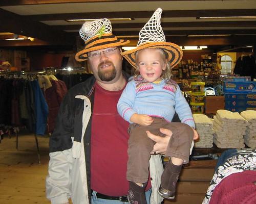 Like my hat Dada, You wear one too