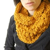 amber orange cowl wordpress pattern link