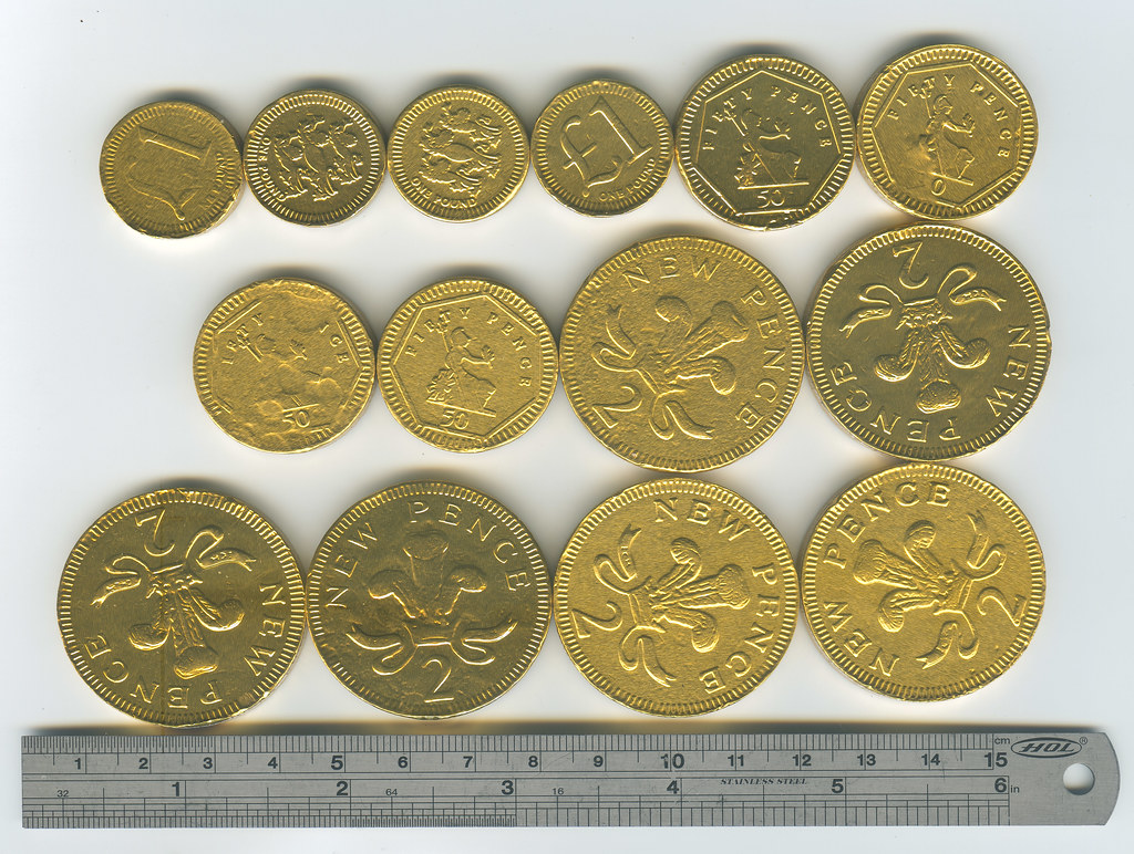 No.24 Hawkin's Bazaar Chocolate Coins.