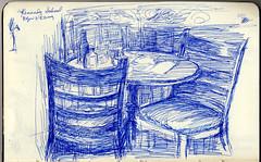 Portland, Oregon - SketchCrawl at the Kennedy School (NaNoDrawMo #40)