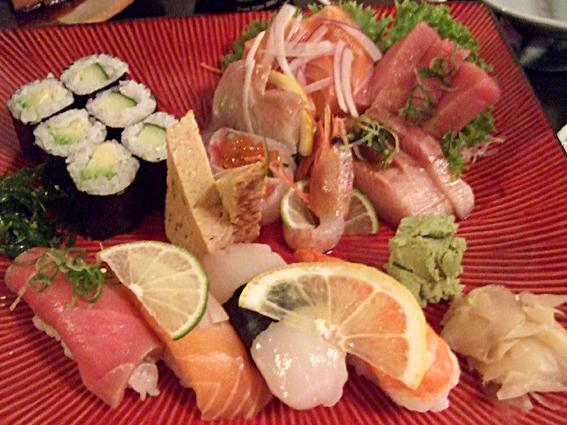 sushi sashimi mix