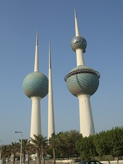 Kuwait Towers (TimeConsumer_71) Tags: architecture view towers kuwait tallbuildings