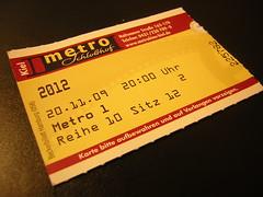 20.11.2009, 20.00 Uhr, Metro-Kino Kiel (Saal 1)