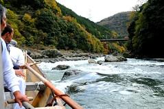 Honzu River Boat Ride, Arashiyama