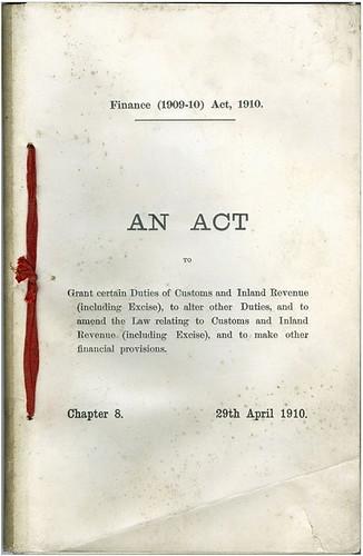 finance act 1910