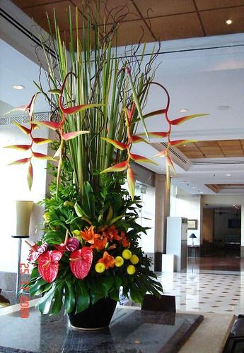 DSC02144 花艺设计,吉隆坡 Royale Bintang Hotel 大堂