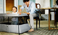 4148166660 fea48e2163 m CYBER MONDAY GIVEAWAY: BabyBjörn Travel Crib Light – choosing 5 winners!