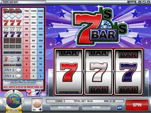free Sevens and Bars slot mini symbol