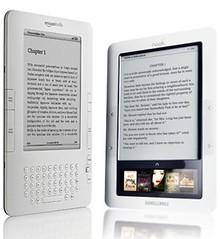 Kindle and Nook in Price War