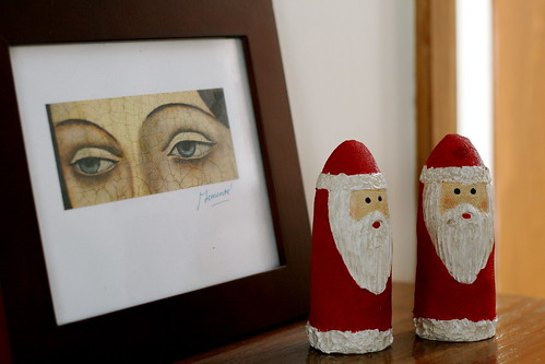 Saturday: Creepy Santas