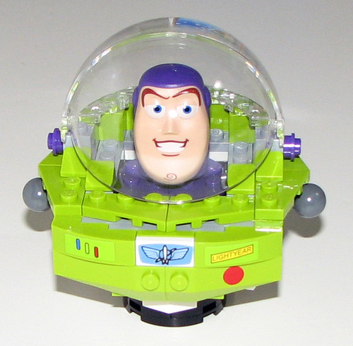 2010 LEGO Toy Story 7592 Construct-a-Buzz