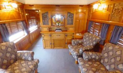 Rail Car - Prince of Wales Carriage, lounge - Australia