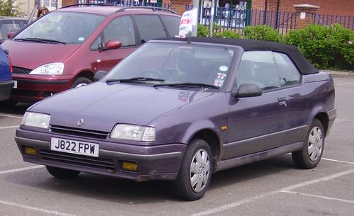 1991 92 Renault 19 Cabriolet