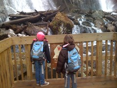The Girls At Anna Ruby Falls