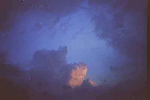 candy floss clouds. candy floss clouds