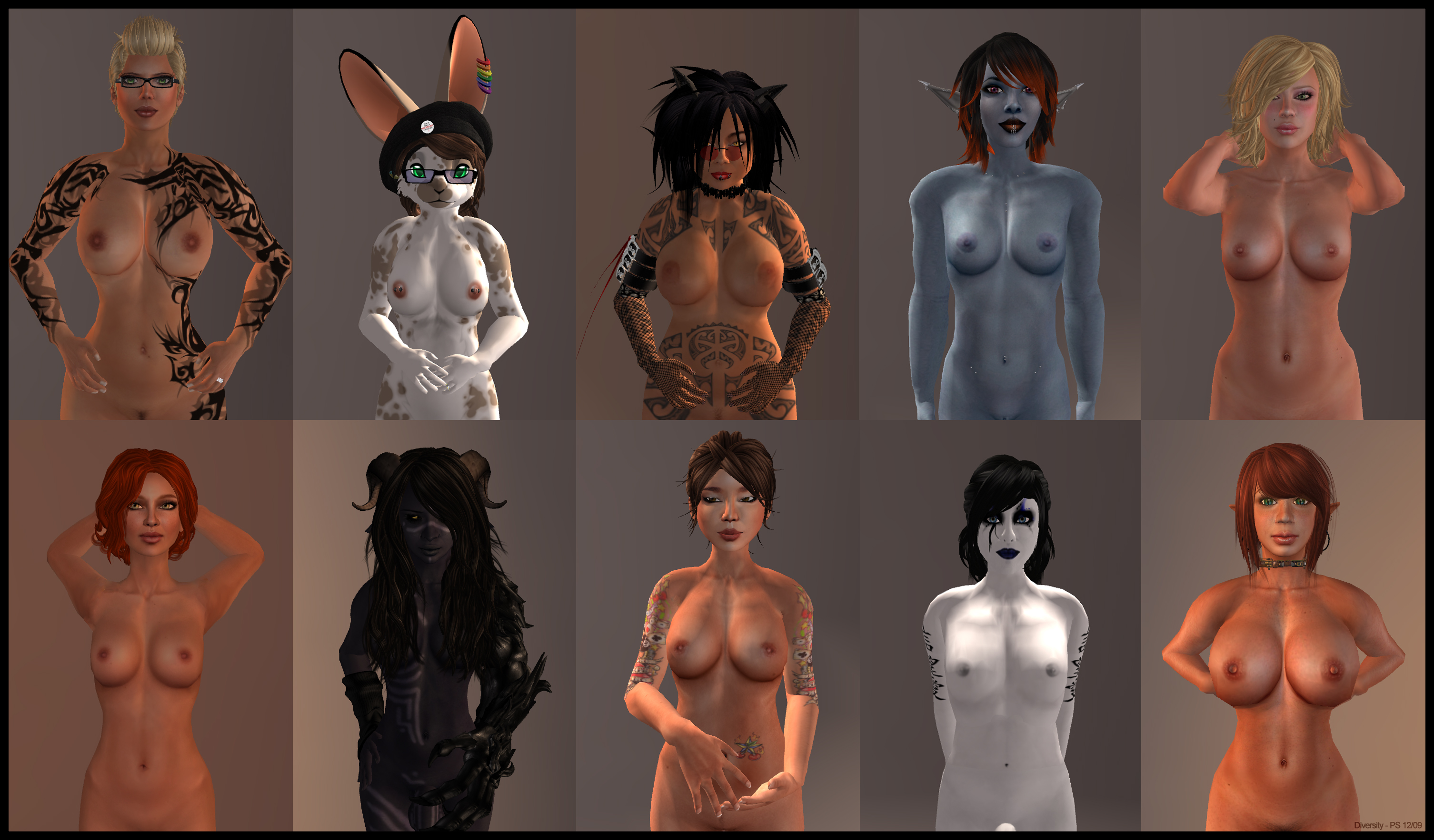 3d nude females hentai photo