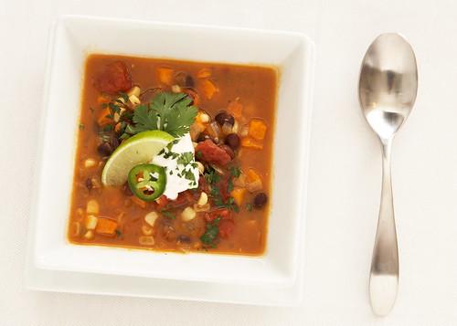 Black Bean & Sweet Potato Soup 4of6