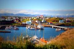 Stykkishólmur tiltshift (*maya*) Tags: landscape bay harbor iceland harbour porto fjord paesaggio fiordo islanda baia tiltshift snaefellsnes stykkisholmur