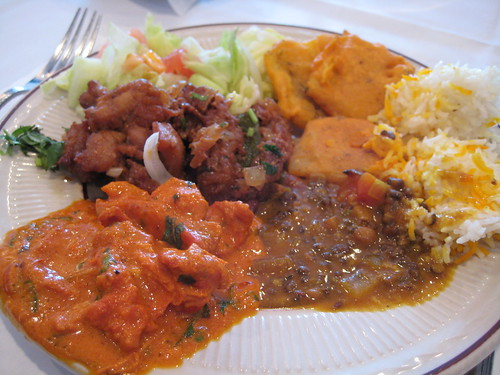 Buffet Plate at House of India