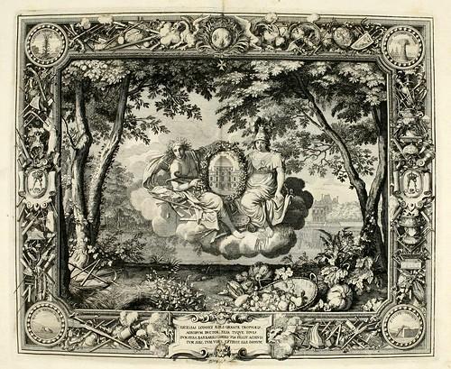 023-Las estaciones-Verano-Tapisseries du roy, ou sont representez les quatre elemens 1690- Sebastien Le Clerc