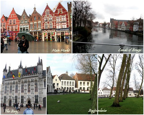 Bruges collage
