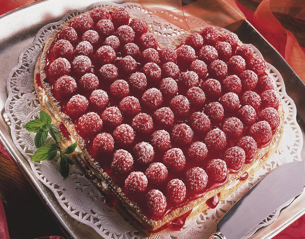 Raspberry Cream Heart Recipe