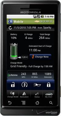 onstar Android también nos controlará el vehículo