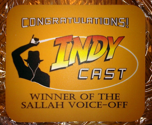 Sallah Voice-Off prize by Indy Cast.