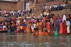 RTW2009-0854Varanasi (plusgood) Tags: india varanasi ganges uttarpradesh chhath chhathfestival rtw2009