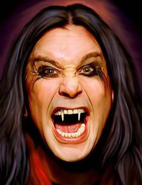 Voz exótica de Ozzy Osbourne