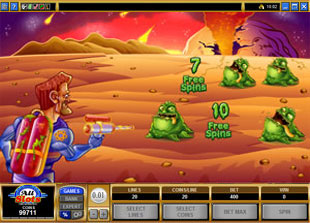 free Monster Meteors free spins